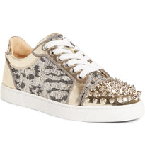 CHRISTIAN LOUBOUTIN - Vieira Spike Stud Low-Top Sneaker