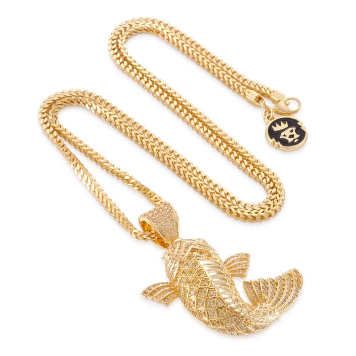 The Yamabuki Ogon Koi Fish Necklace