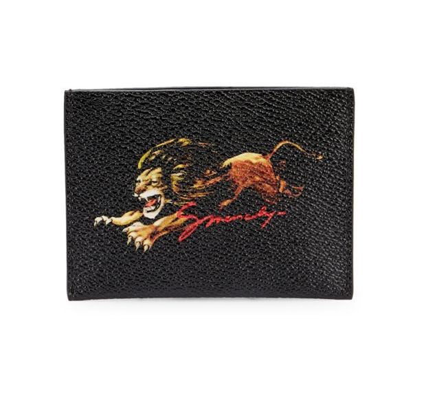 GIVENCHY - Lion Print Card Case