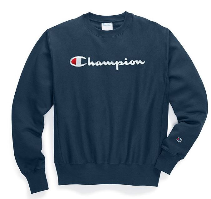CHAMPION - Reverse Weave Pigment-Dyed Crew Neck with Champion script logo