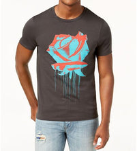 GUESS - Men's Rose Drip Graphic-Print T-Shirt