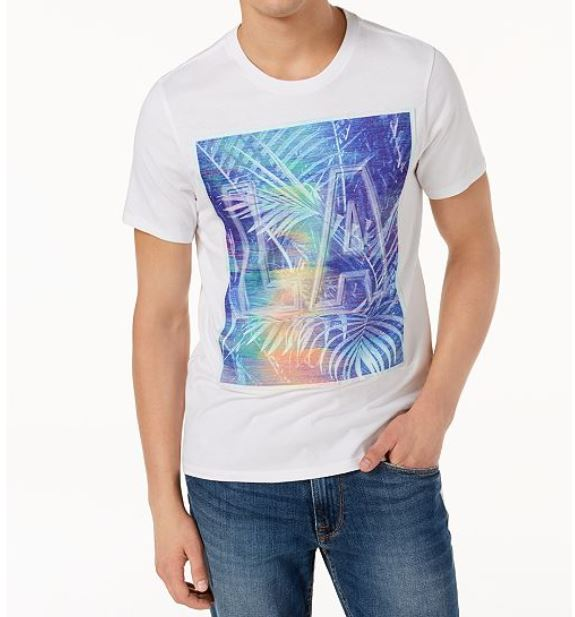 GUESS - Men's Graphic Print T-Shirt