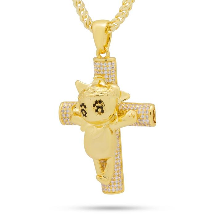 Glo Life Cross Necklace