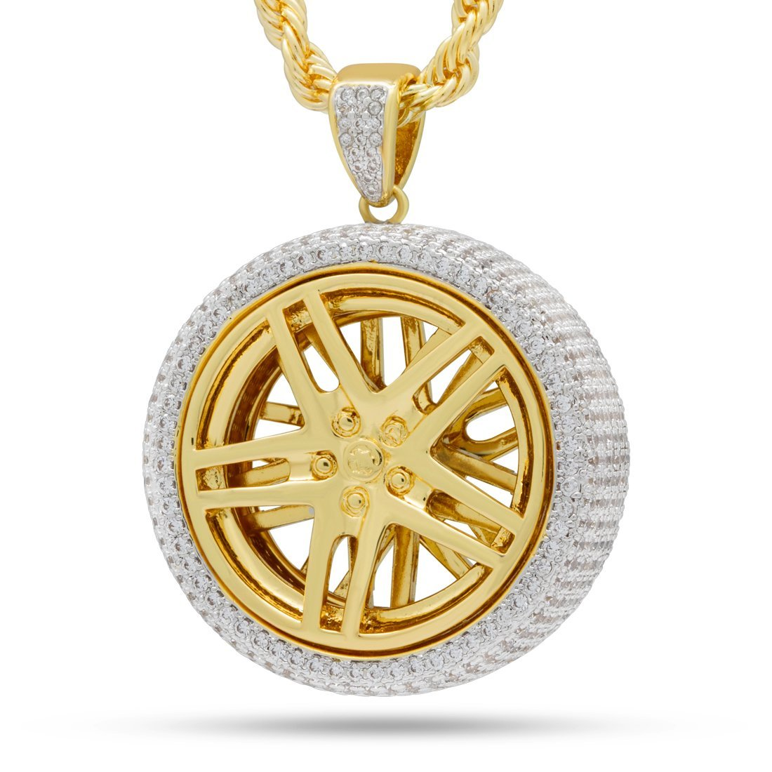 The Spinning Rims Necklace