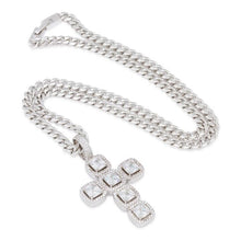 "The White Gold ""LOVE GOD"" Cross"