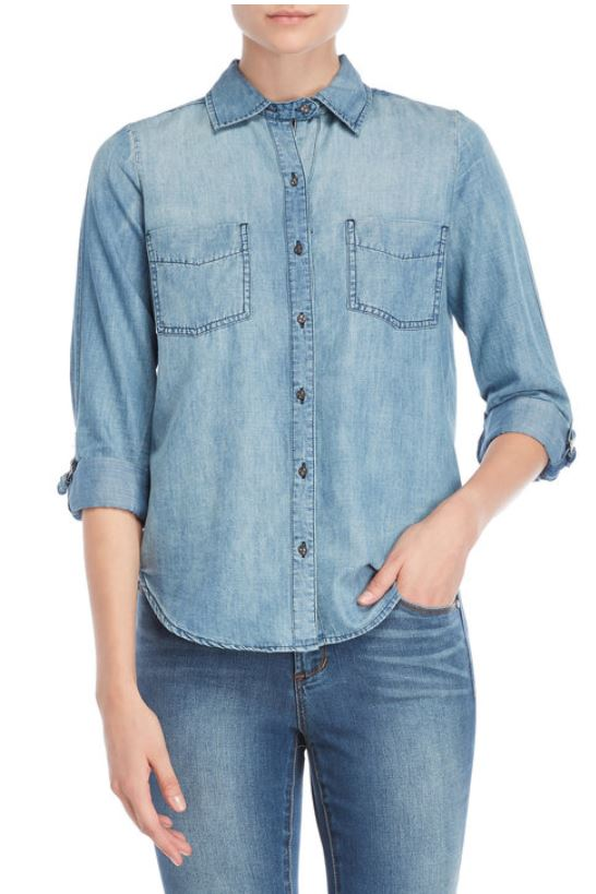 WILLIAM RAST - Carina Denim Shirt