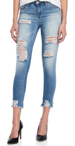 YMI - DreamFit Mid-Rise Ankle Skinny Jeans