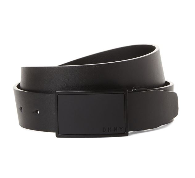 DKNY - Logo Plaque Reversible Belt