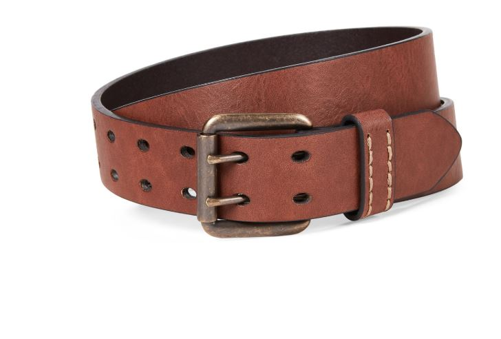 LEVI'S - Tan Roller Buckle Belt
