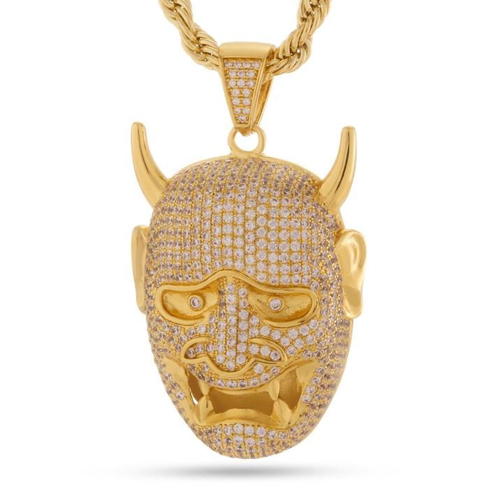 The Hannya Mask Necklace