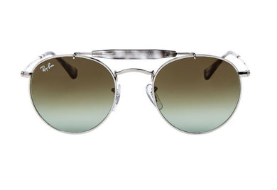 RAY-BAN - RB 3747 Silver-Tone Round Glasses