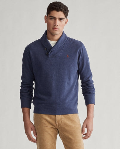 POLO RALPH LAUREN - Luxury Jersey Shawl Pullover