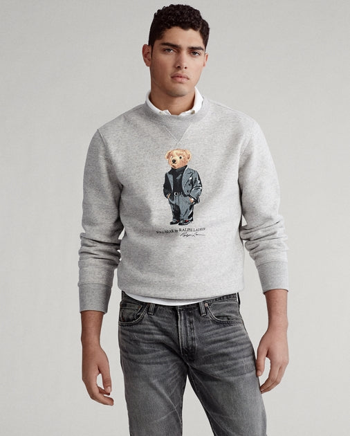 POLO RALPH LAUREN - Suit Bear Fleece Sweatshirt