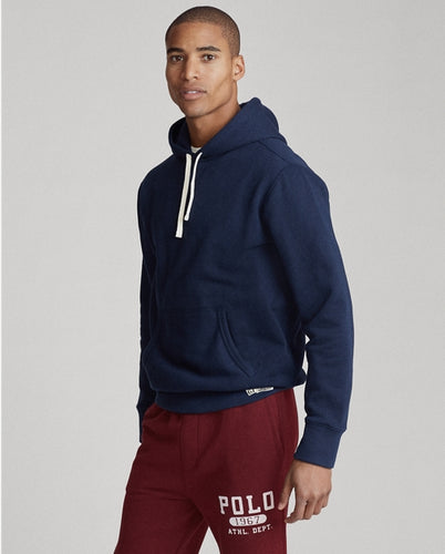POLO RALPH LAUREN - Cotton-Blend-Fleece Hoodie