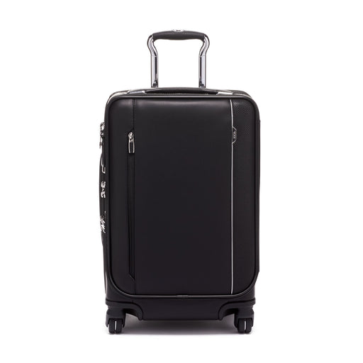 Tumi Arrive International Dual Access 4 Wheeled Carry-On Leather
