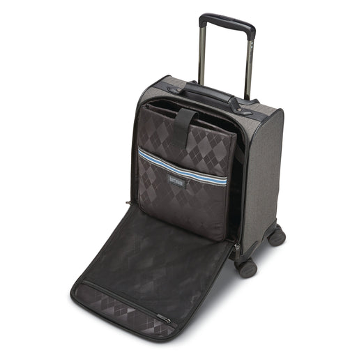 "Hartmann Herringbone Deluxe 16"" Underseat Carry-On Spinner"