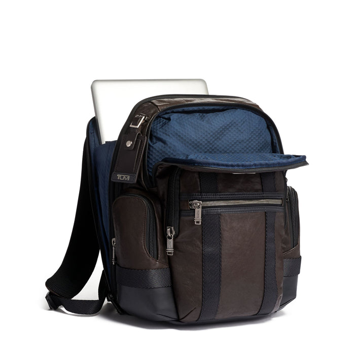 Tumi Alpha Bravo Nathan Backpack Leather