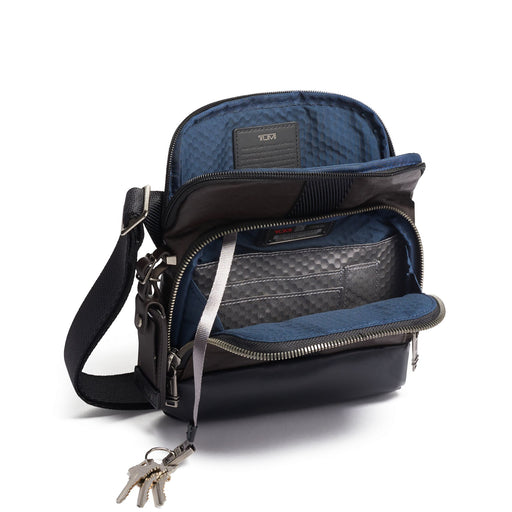 Tumi Alpha Bravo Barksdale Crossbody Leather