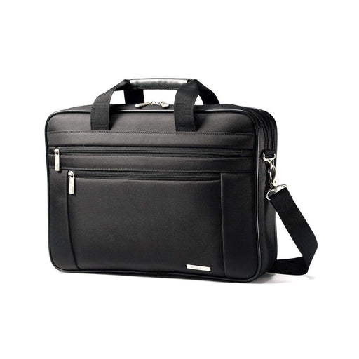 Samsonite Classic Business Perfect Fit Two Gusset Laptop Bag 15.6""