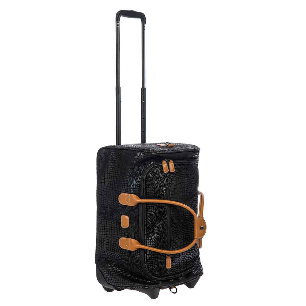 "Brics MySafari 21"" Carry-On Rolling Duffle Bag"