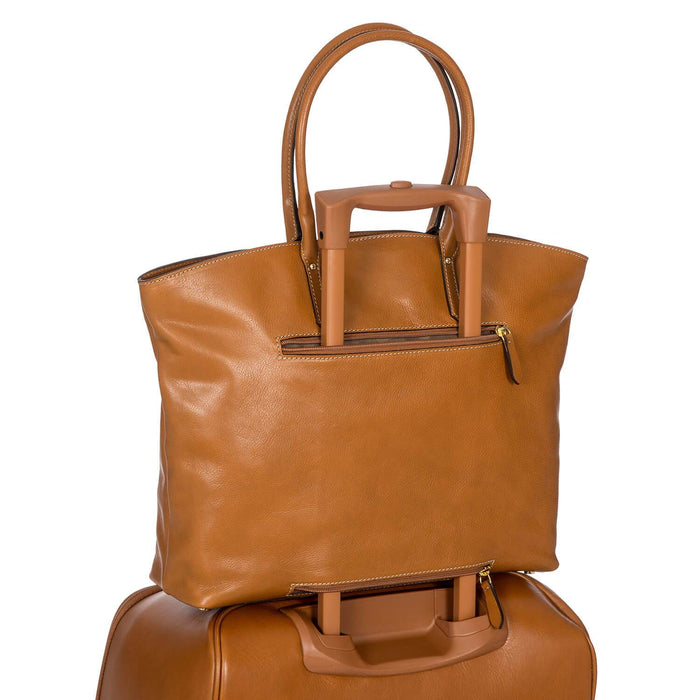 Brics Life Pelle Shopper Tote Bag
