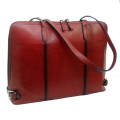 Touro Signature Leather Ladies Laptop Brief
