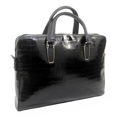 Touro Signature Leather Croc Business Brief