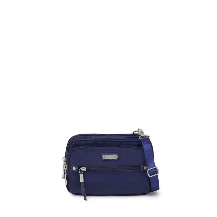 Baggallini Travel Accessories Collection Time Zone RFID Crossbody Bag