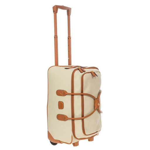 "Brics Firenze 21"" Carry-On Rolling Duffel"