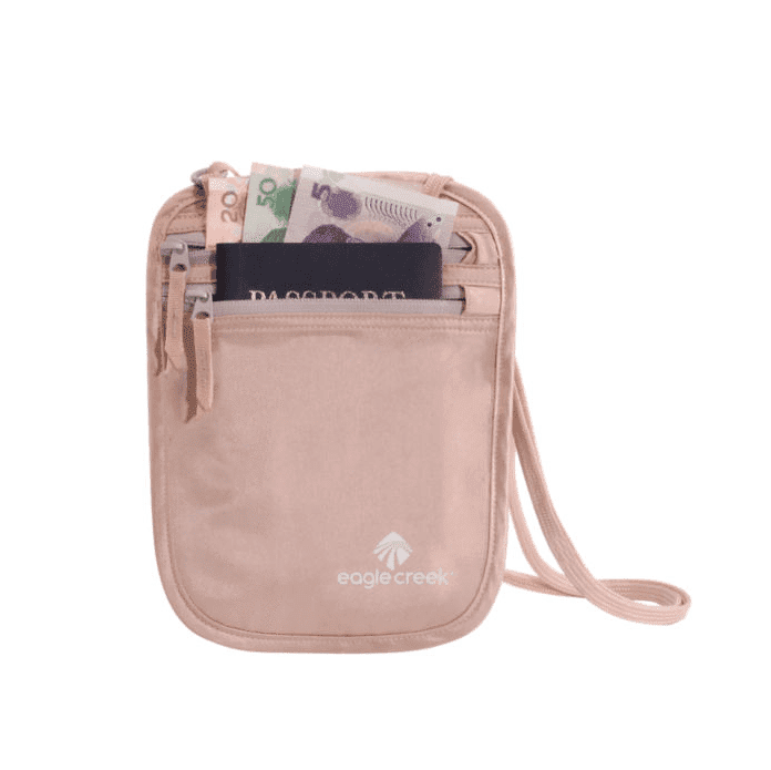 Eagle Creek Travel Security Silk Undercover Neck Wallet
