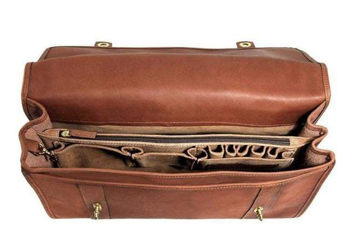 Jack Georges Belmont Professional Leather Briefcase