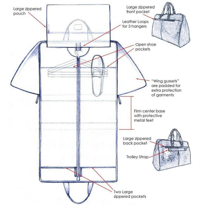 Jack Georges Voyager Convertible Garment Cover