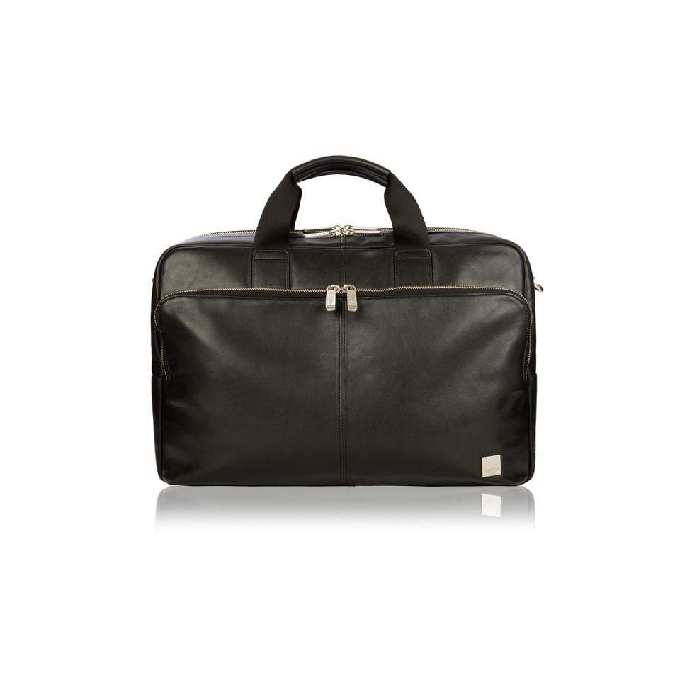 Knomo Brompton Classic Amesbury Leather Laptop Briefcase - 15""
