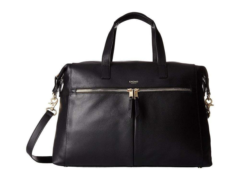 Knomo Mayfair Luxe Audley Leather Laptop Handbag - 14""
