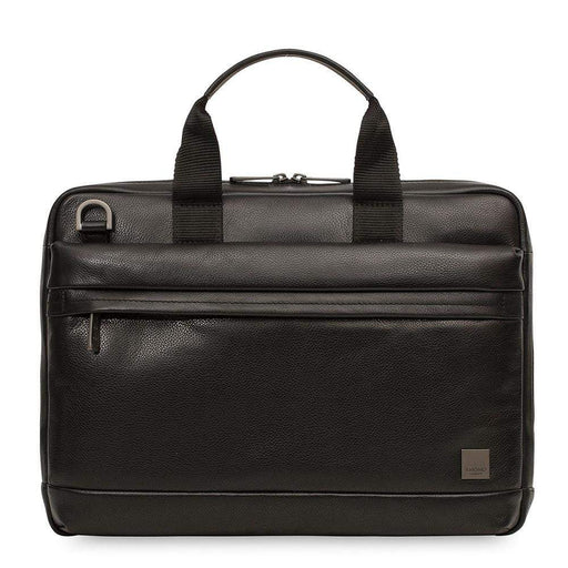 Knomo Barbican Foster Leather Laptop Briefcase