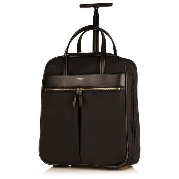 Knomo Mayfair Burlington Wheeled Travel Laptop Bag - 15""