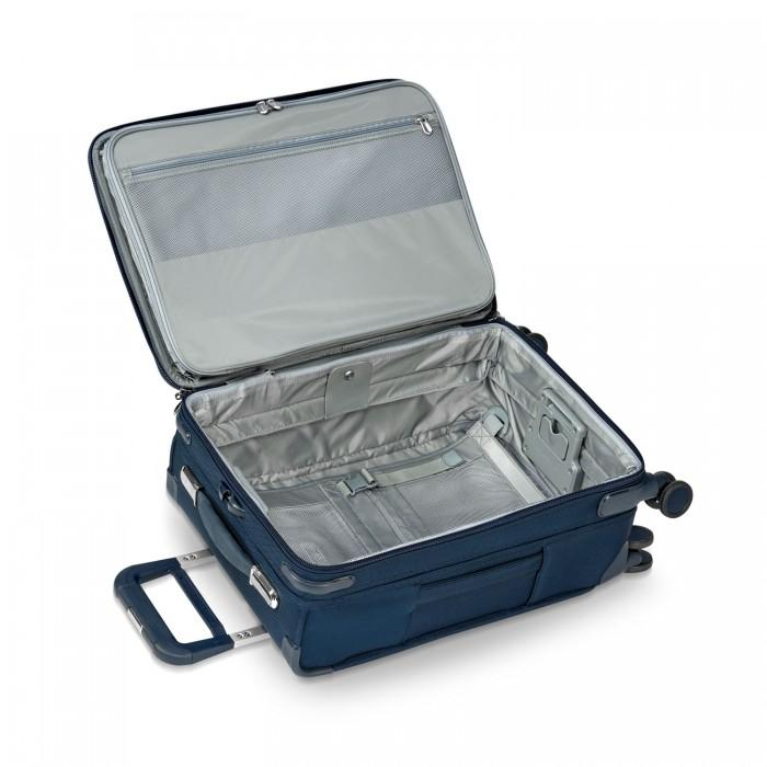 Briggs & Riley Baseline Domestic Carry-On Expandable Spinner Navy