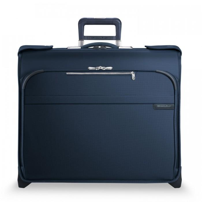 Briggs & Riley Baseline Deluxe Wheeled Garment Bag Navy