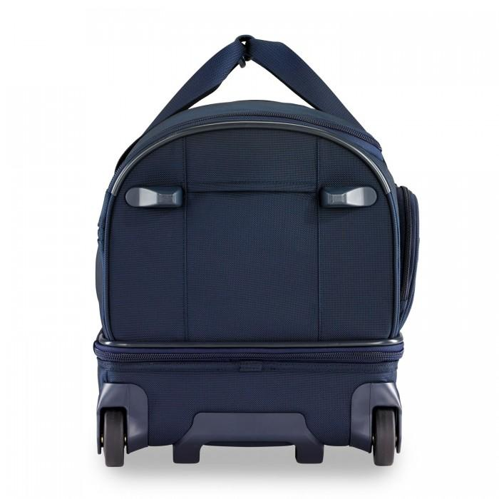 Briggs & Riley Baseline Medium Upright Duffle Navy