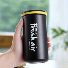 Load image into Gallery viewer, Stainless Steel Office Coffee Thermos
