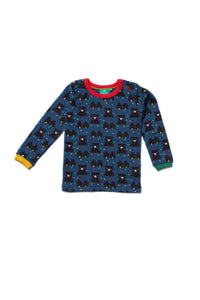 Little Green Radicals, Winter Bear, Long Sleeved Tee, Organic, Cotton