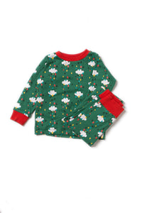 Little Green Radicals, Falling Water, PJ, Pyjamas, Christmas Eve, Organic Cotton, Unisex