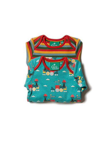 Sky Train Two Pack Baby Body Set