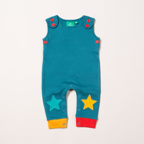 Navy Star Dungarees
