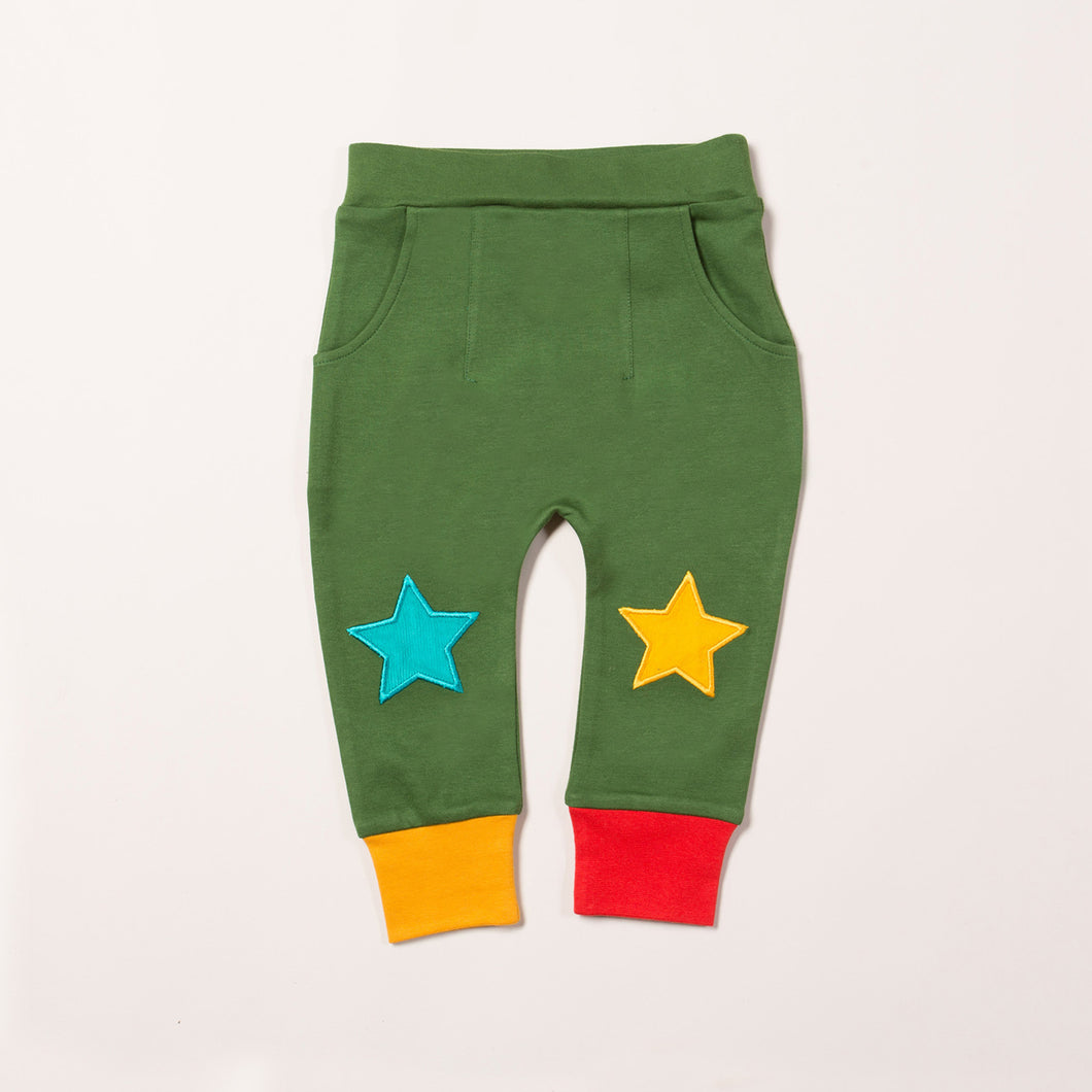 Woodland Green Star Joggers