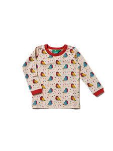 Rainbow Robins Long Sleeved Tee