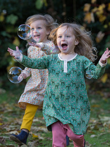Little Green Radicals, Forest Doe, Green, Dress, Christmas