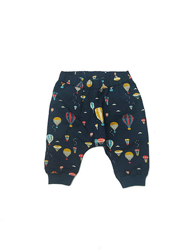 Little Green Radicals, Higher Ground, Joggers, Lined, Hot Air Balloons, Navy Blue