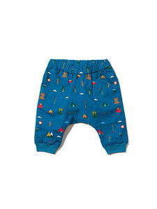 Little Green Radicals Jelly Bean joggers, Teal