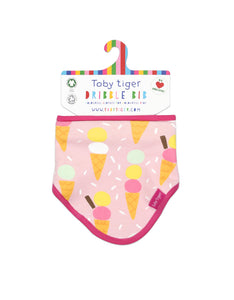 Organic  Ice Cream Dribble Bib